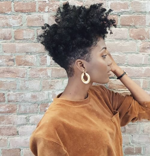 Low Cut Hairstyles For Black Females: 19 Hottest Short Natural Haircuts For Black Women With