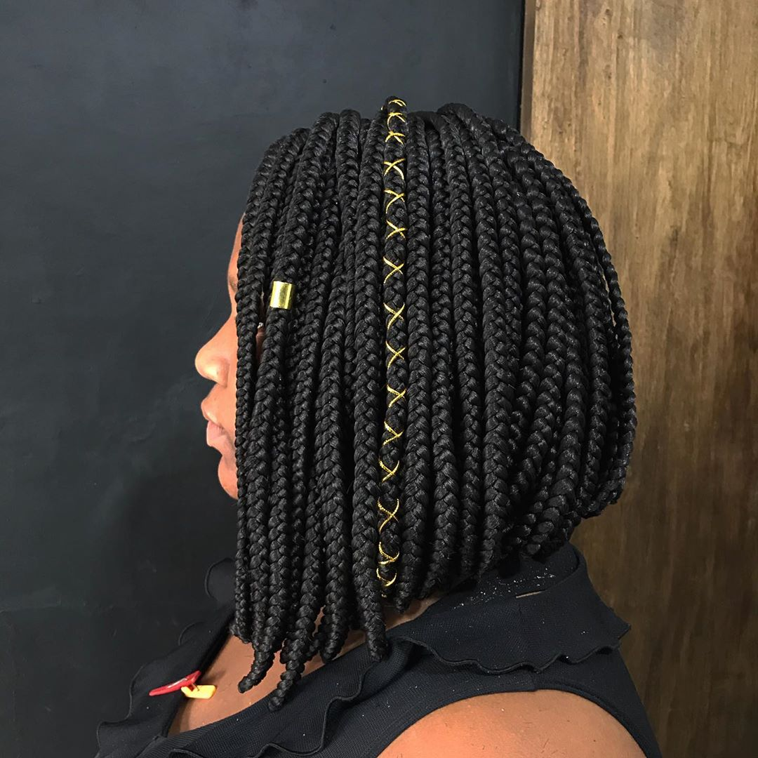 short poetic justice braids