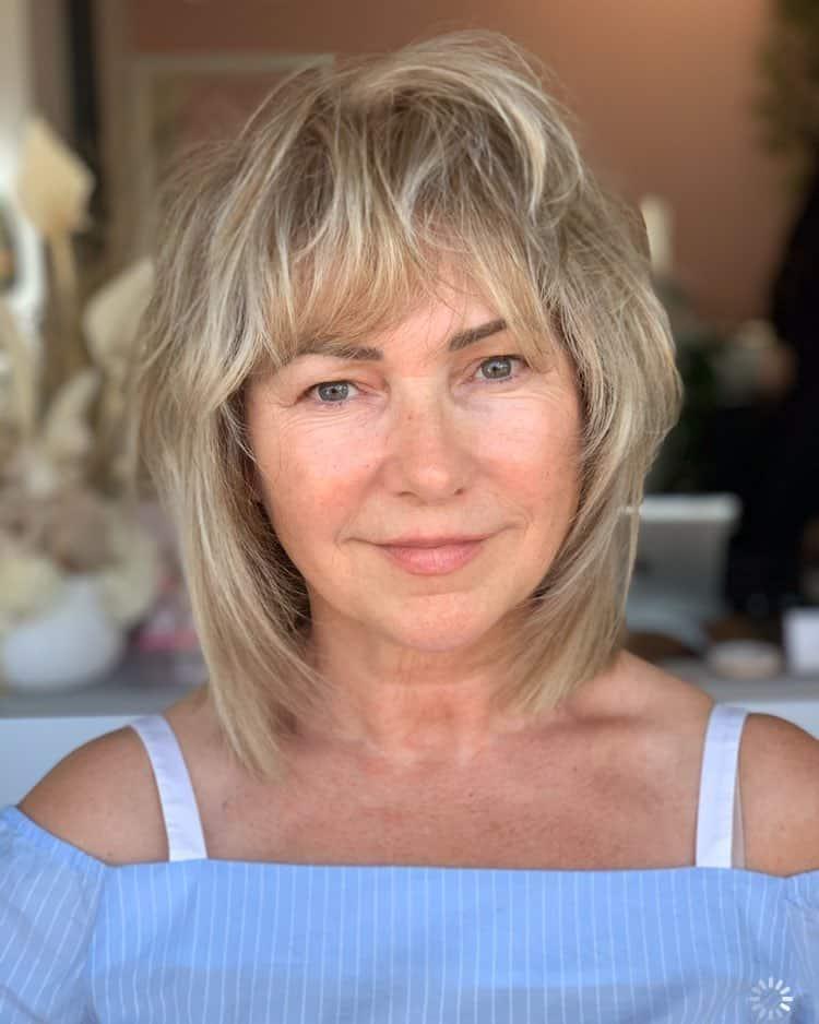 34 Flattering Short Haircuts For Older Women In 2021