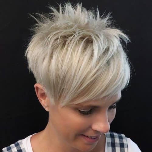 16 Short Hair With Long Bangs Trending In 2020