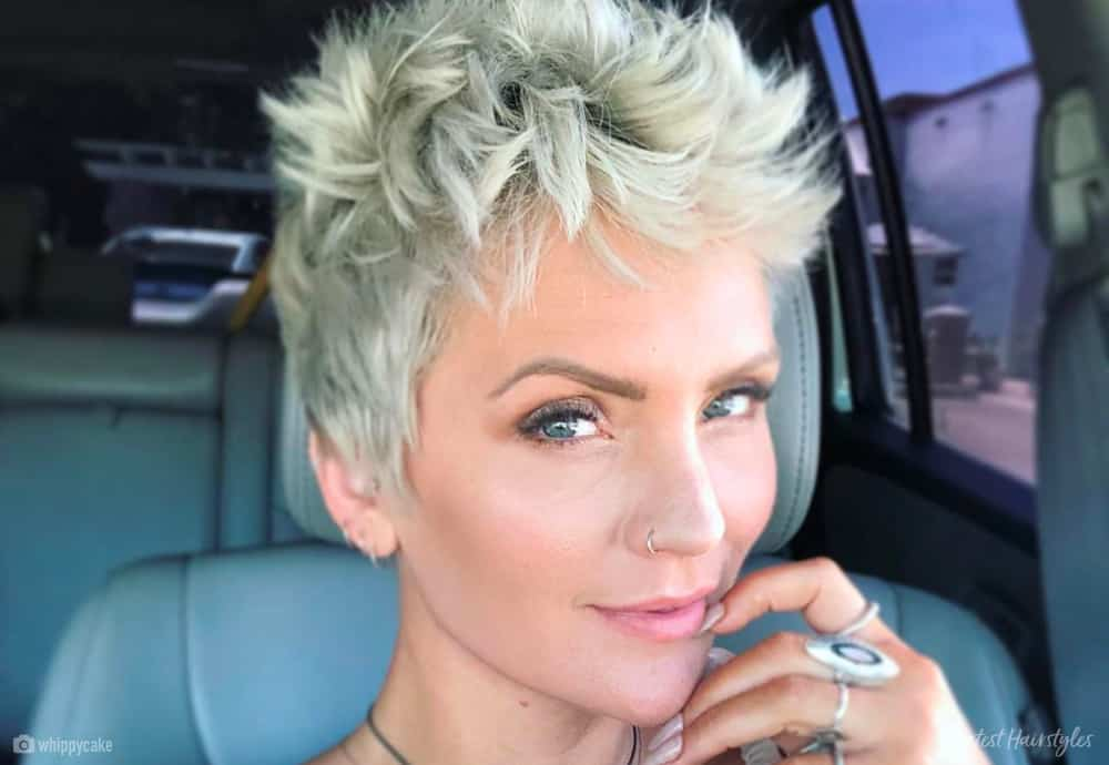 13 Of The Boldest Short Spiky Hair Pictures And Ideas For 2020
