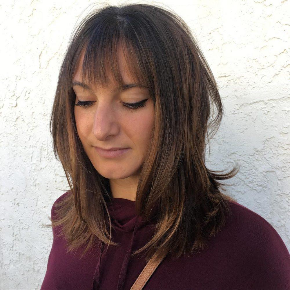 Short Textured Fringe hairstyle