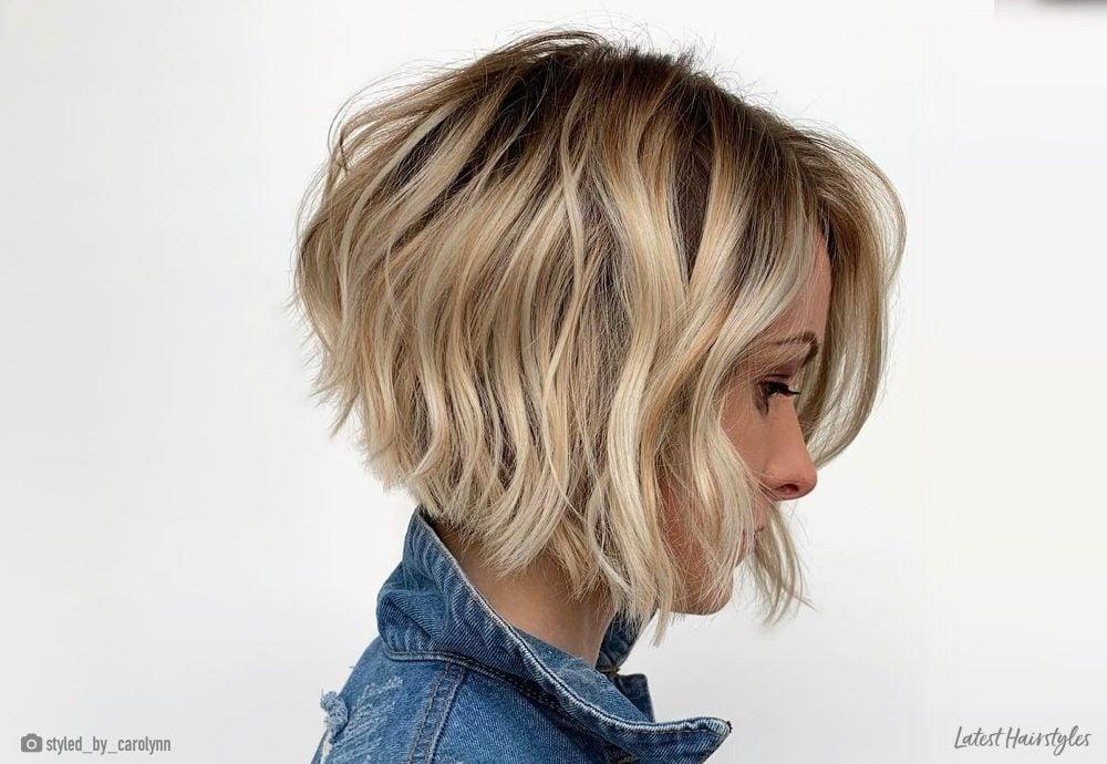 17 Short Wavy Bob Haircuts Trending Right Now