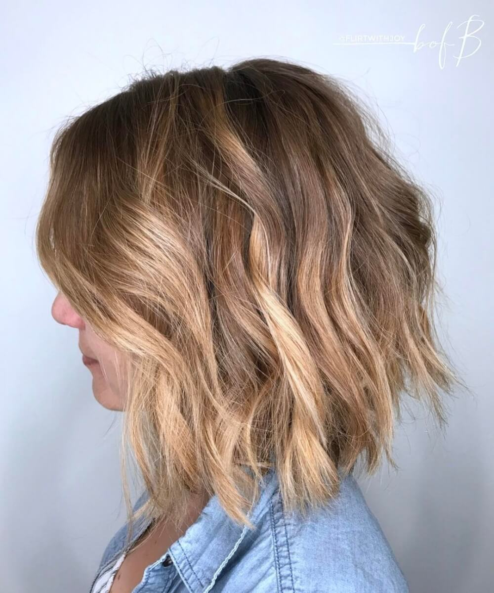 18 light brown hair colors that will take your breath away beachy brunette hairstyle urmus Gallery