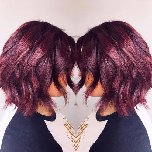 35 Best Burgundy Hair Ideas Of 2018 Yummy Wine Colors