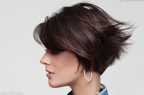 Short wedge haircuts