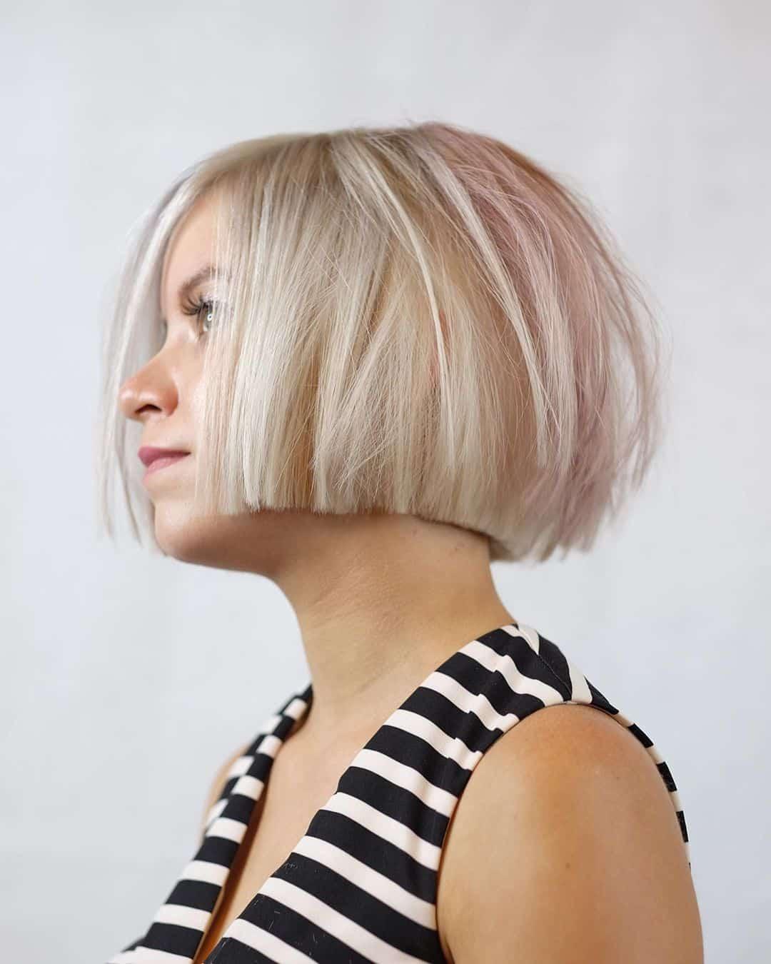 cortes de pelo cortos para chicas rubias