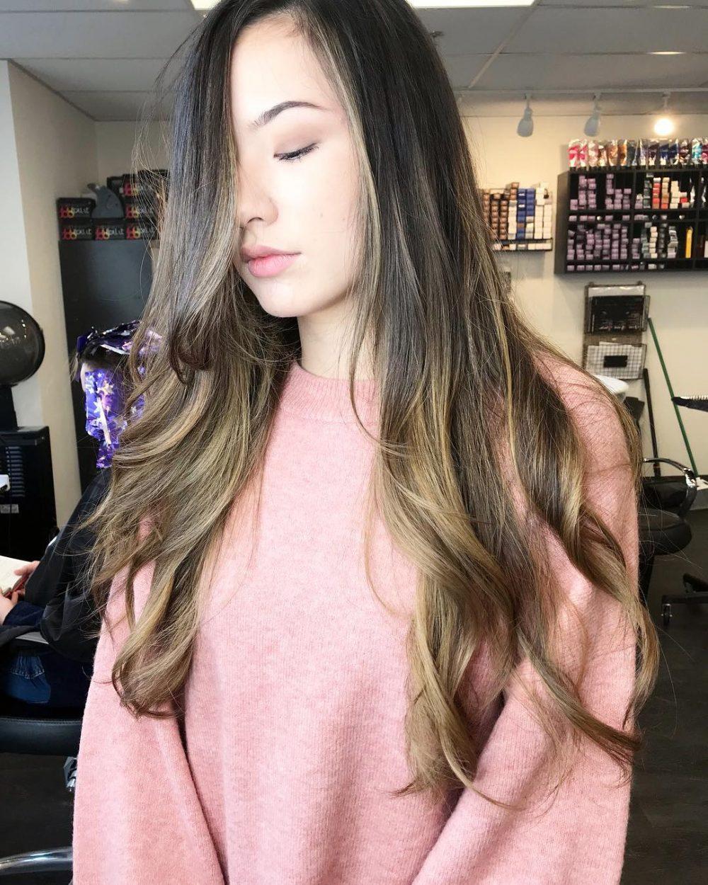 Shorter Face Frame hairstyle