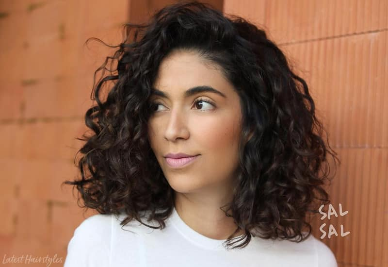 24 Best Shoulder Length Curly Hair Ideas (2019 Hairstyles