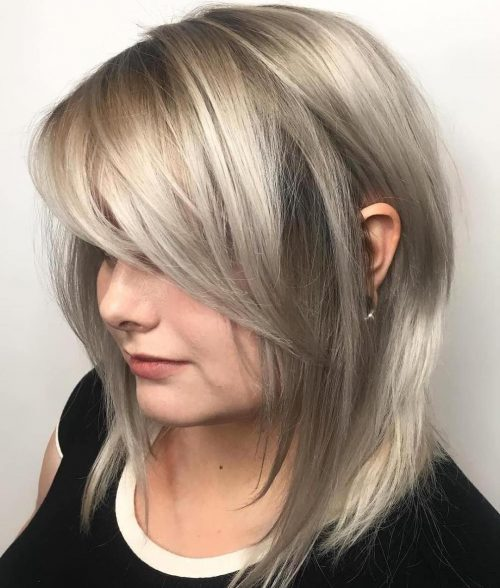 18 Hottest Layered Haircuts With Bangs For 2020