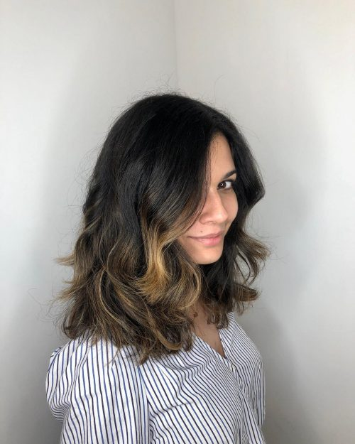 Mid Length Layered Hairstyles For Thick Hair 22