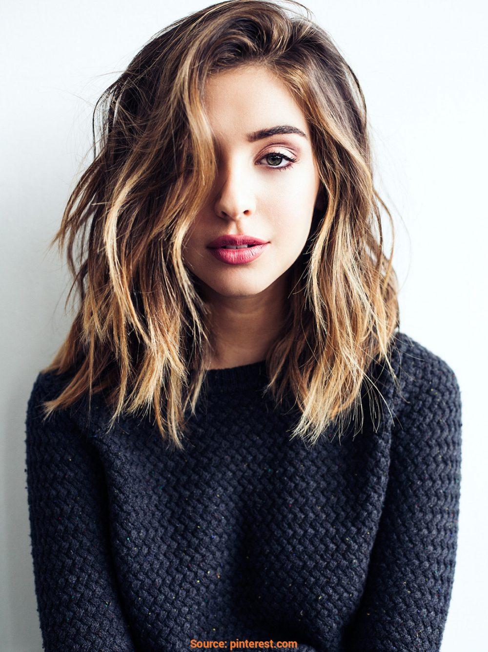 115 Top Shoulder Length Hair Ideas