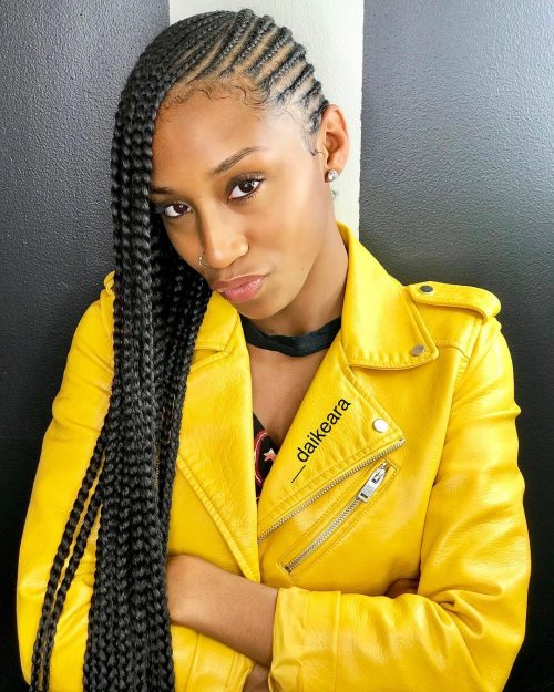 29 Hottest Feed In Braids To Try In 2020