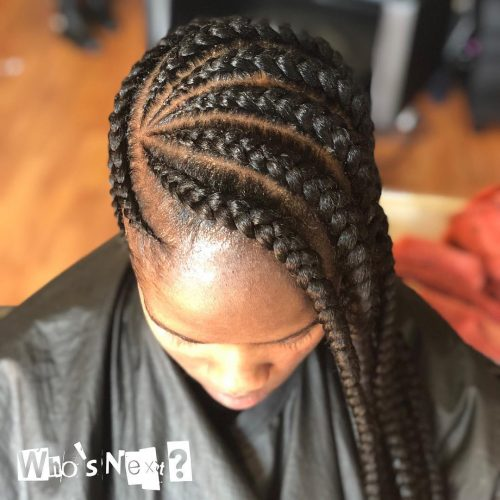 21 Cool Cornrow Braid Hairstyles You Need To Try In 2020