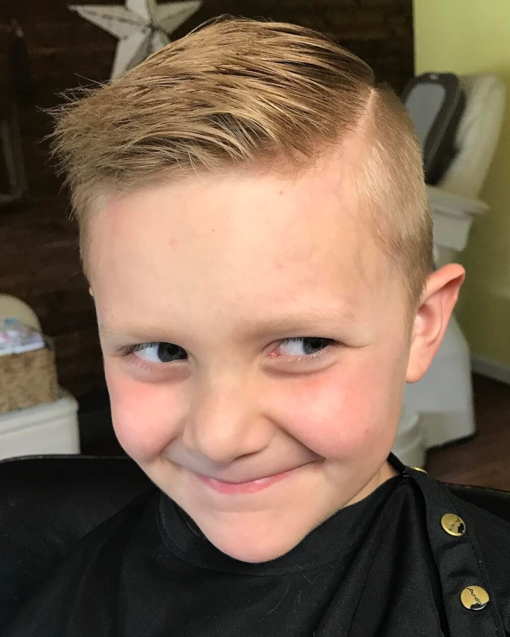 hair boy style 31 boys haircuts 2018 fades pomps lines amp more 8026