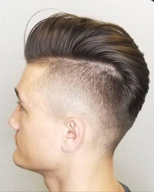 Parte lateral para cabello largo