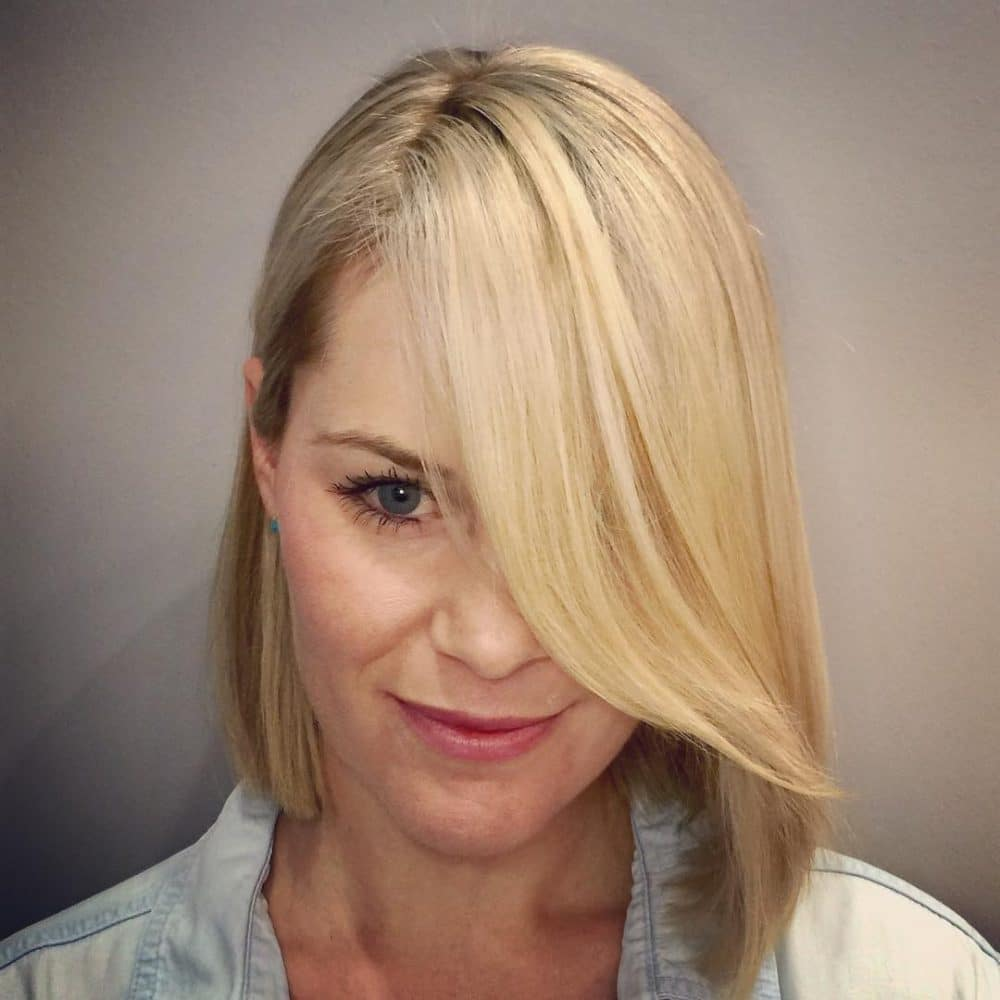 12 sexy hairstyles with side bangs - fringe up your look!