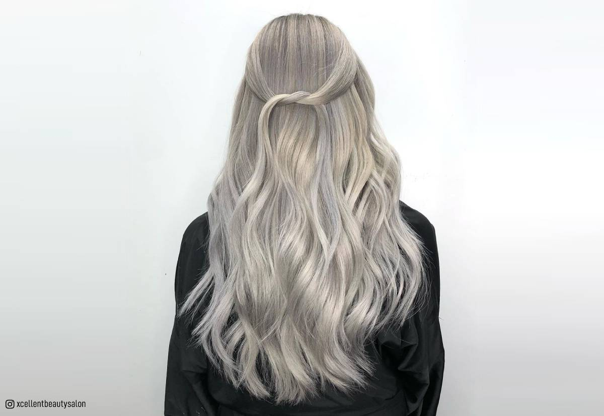 Silver Blonde Hair How To Get This Trendy Color For 2021