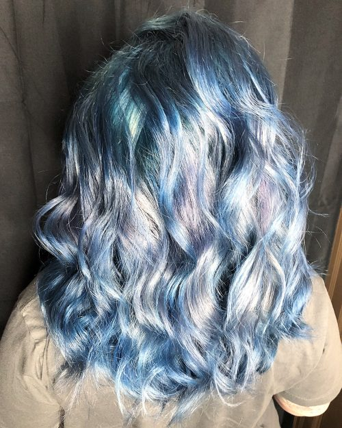 Silver Periwinkle Picture Of And Hair Color