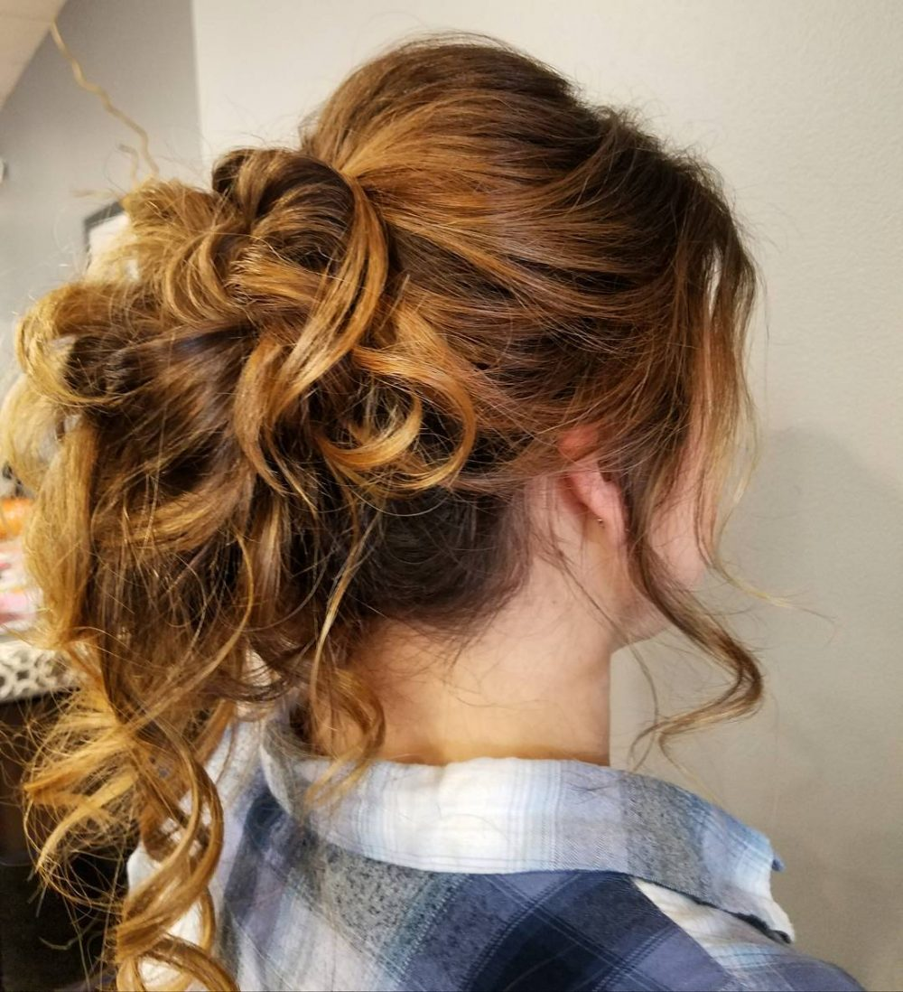 Simple & Effortless hairstyle