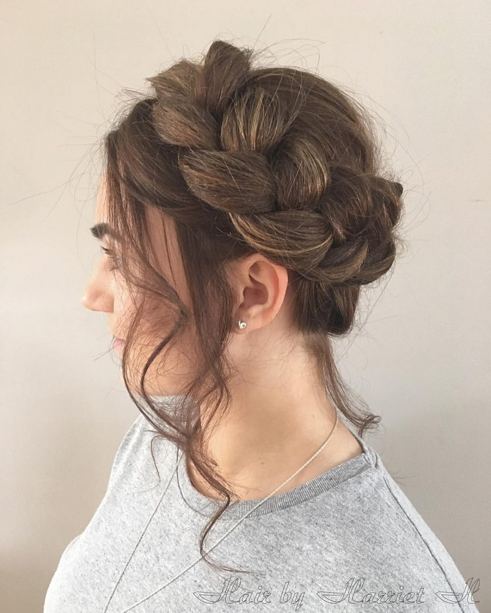 26 gorgeous braided updos you must try simple elegance hairstyle pmusecretfo Images