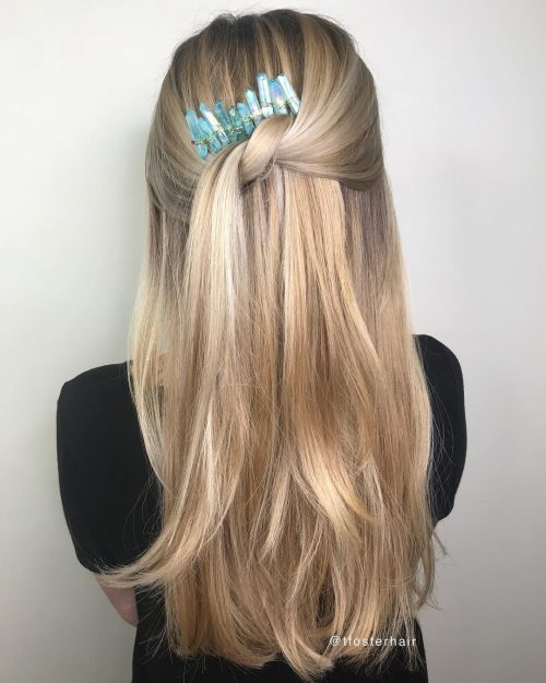 24 Sleek Hairstyles For Straight Hair Trending In 2021