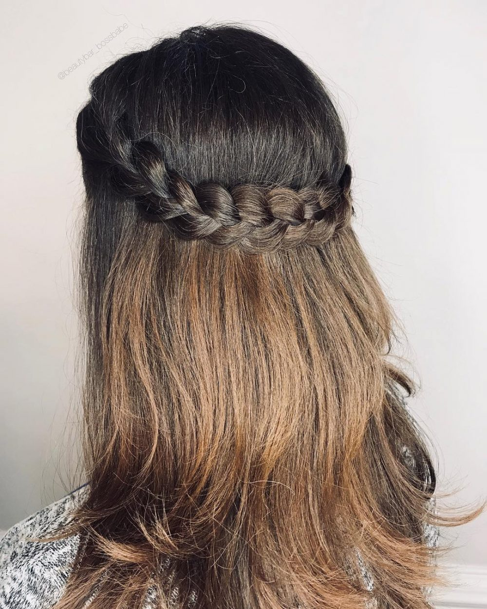 hair simple style 36 simple hairstyles that look anything but simple 7487 | simple infinity braid simple hairstyles