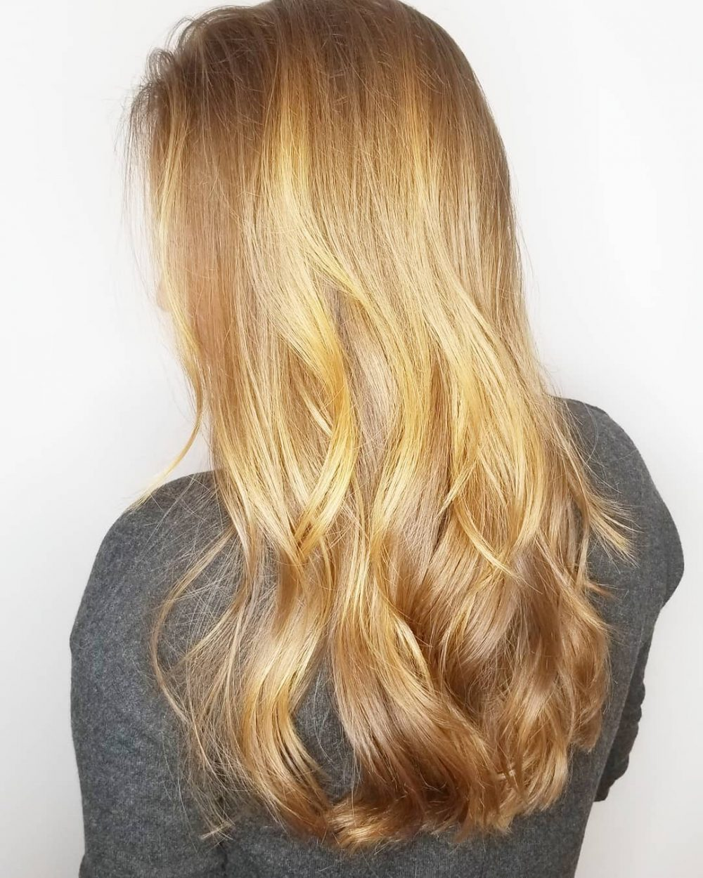 Simple Long Layers hairstyle