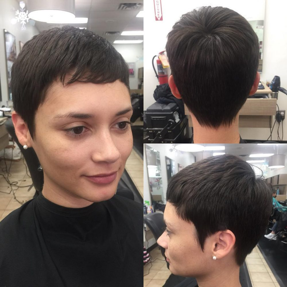 Simple Pixie hairstyle