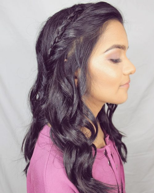 Picture of a simple twisted braid