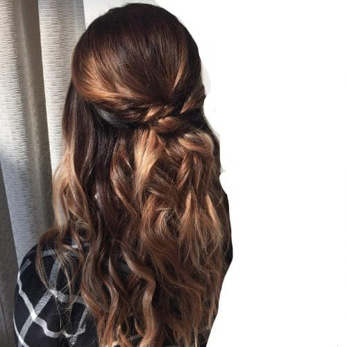 Simple & Organic hairstyle