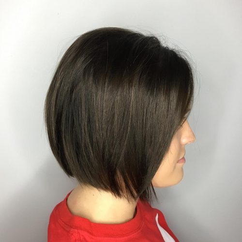 Simple Silhouette hairstyle