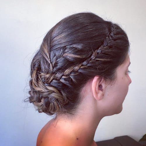 28 Gorgeous Braided Updo Ideas For 2019