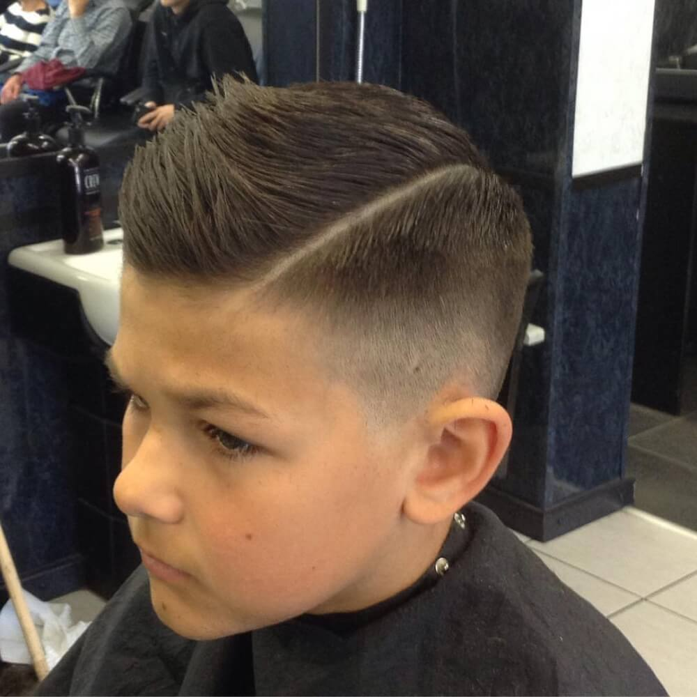 Boys Fade Haircuts: 31 Cutest Boys Haircuts For 2018: Fades, Pomps, Lines & More