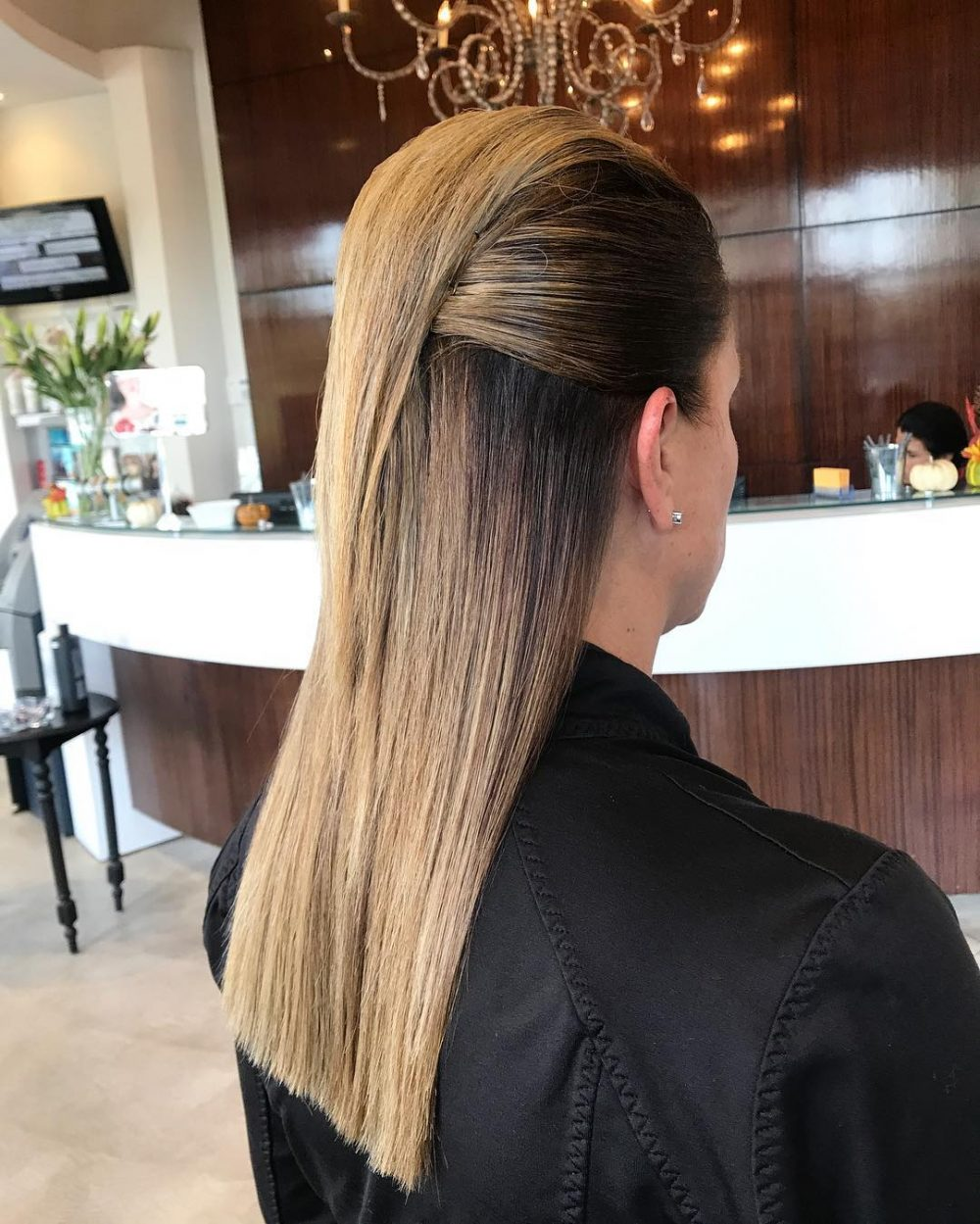 Sleek Faux Hawk hairstyle