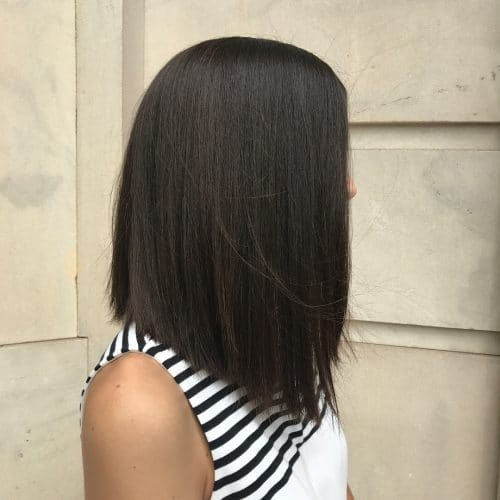 Sleek Angled Bob Hairstyle