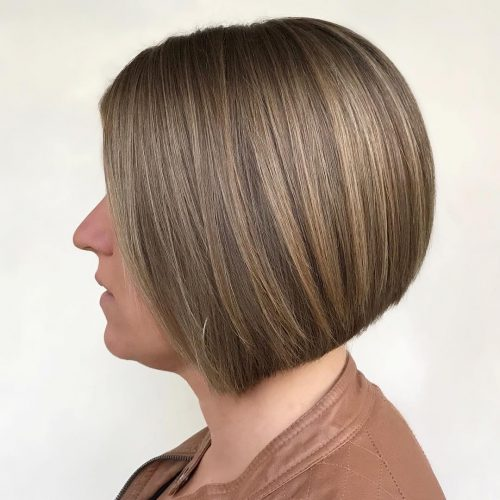 Sleek, Sophisticated and Fun hairstyle