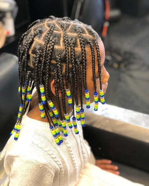 Pleasant The 11 Cutest Box Braids For Kids In 2020 Schematic Wiring Diagrams Phreekkolirunnerswayorg