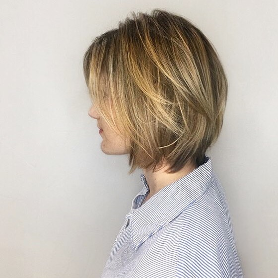 Soft & Bouncy hairstyle