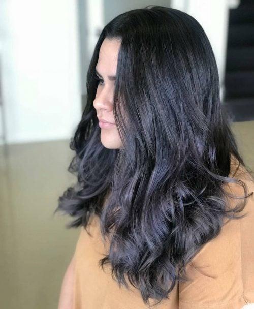 23 Flattering Dark Hair Colors For Every Skin Tone