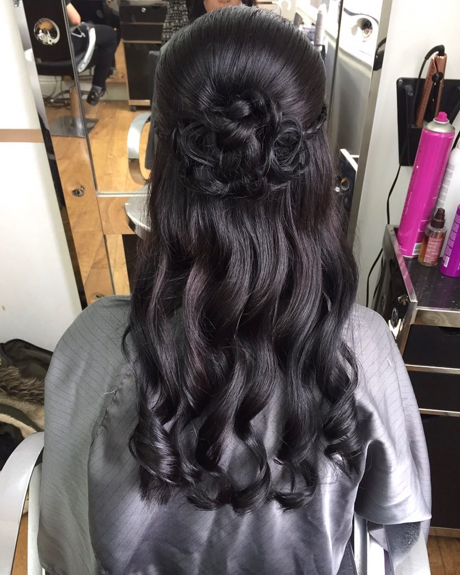 Soft & Pretty hairstyle