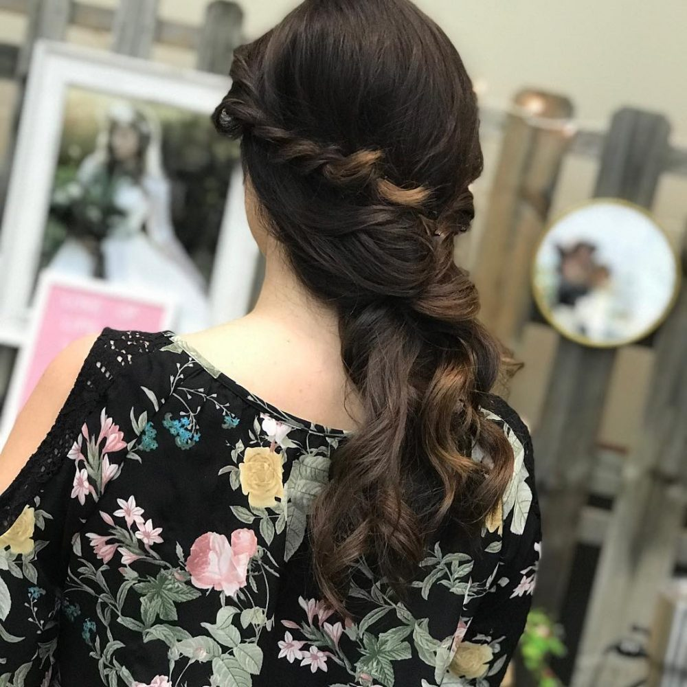 Soft and Romantic Style hairstyle