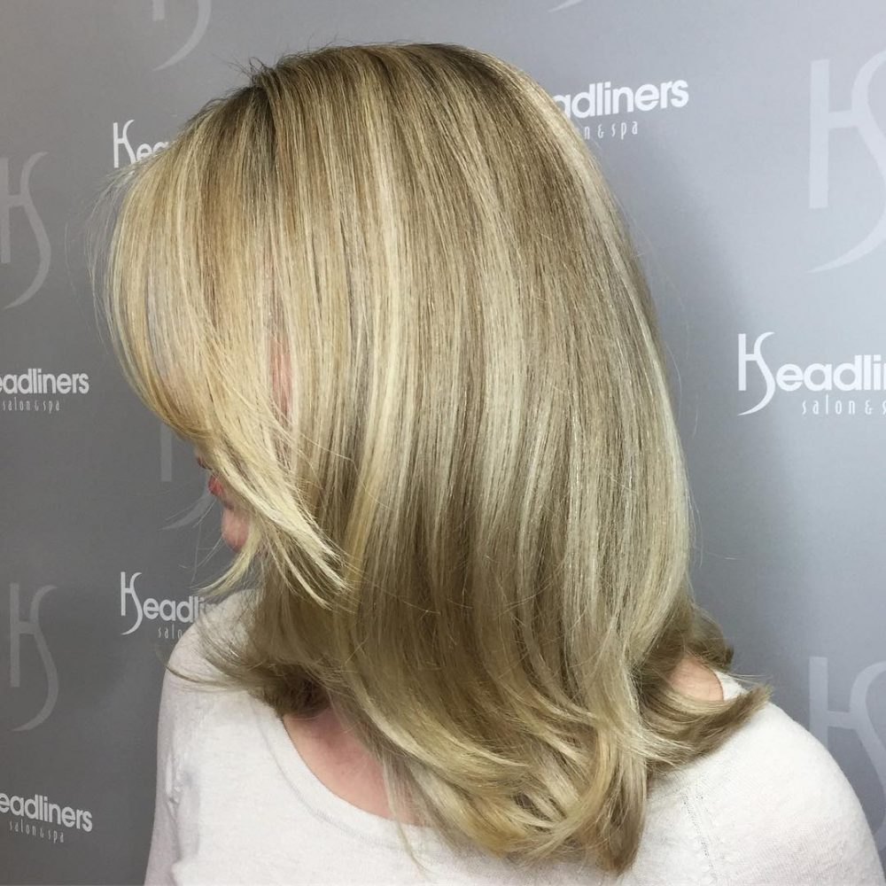 Soft Angle & Blended Layers hairstyle