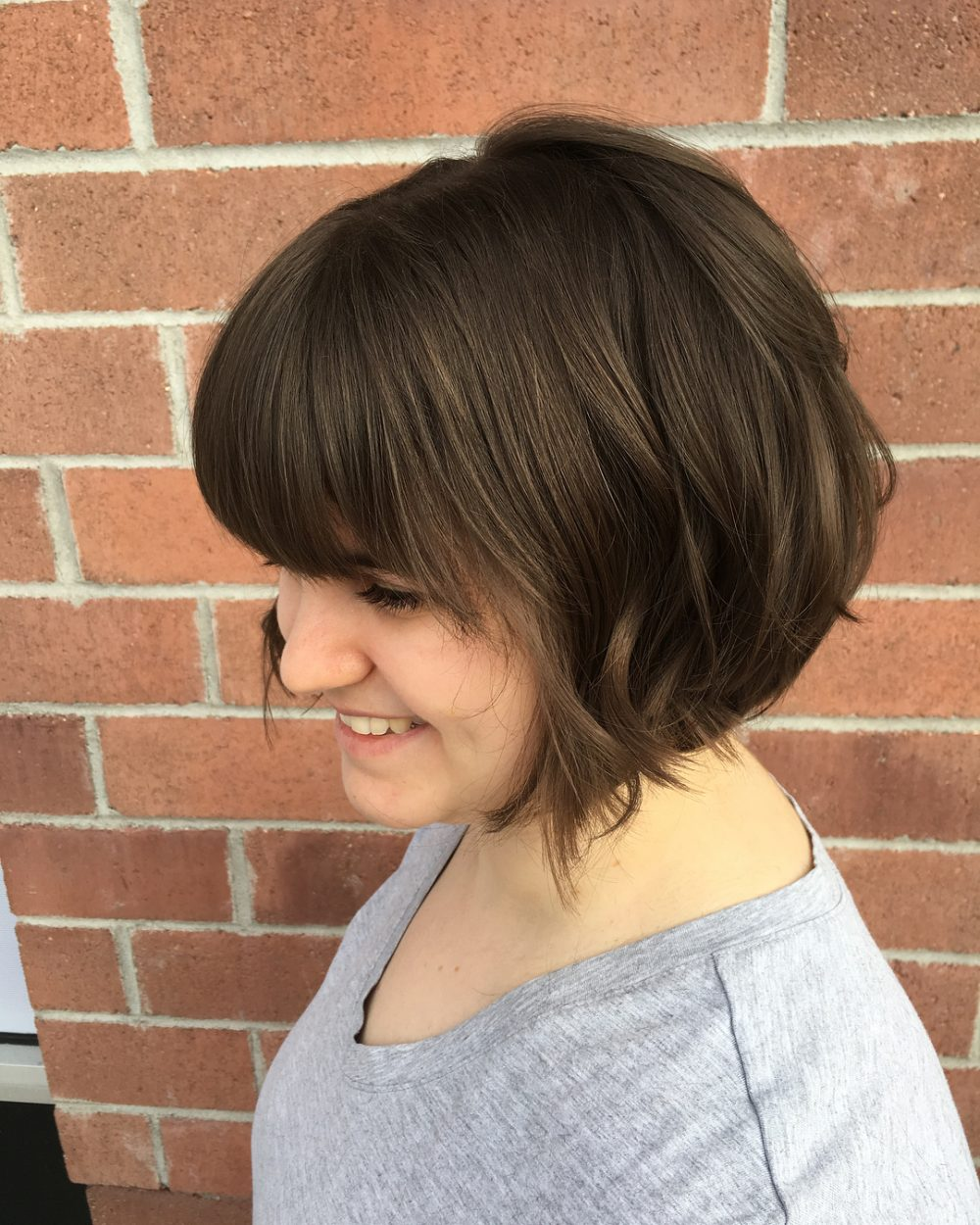 Soft Baby Lob hairstyle