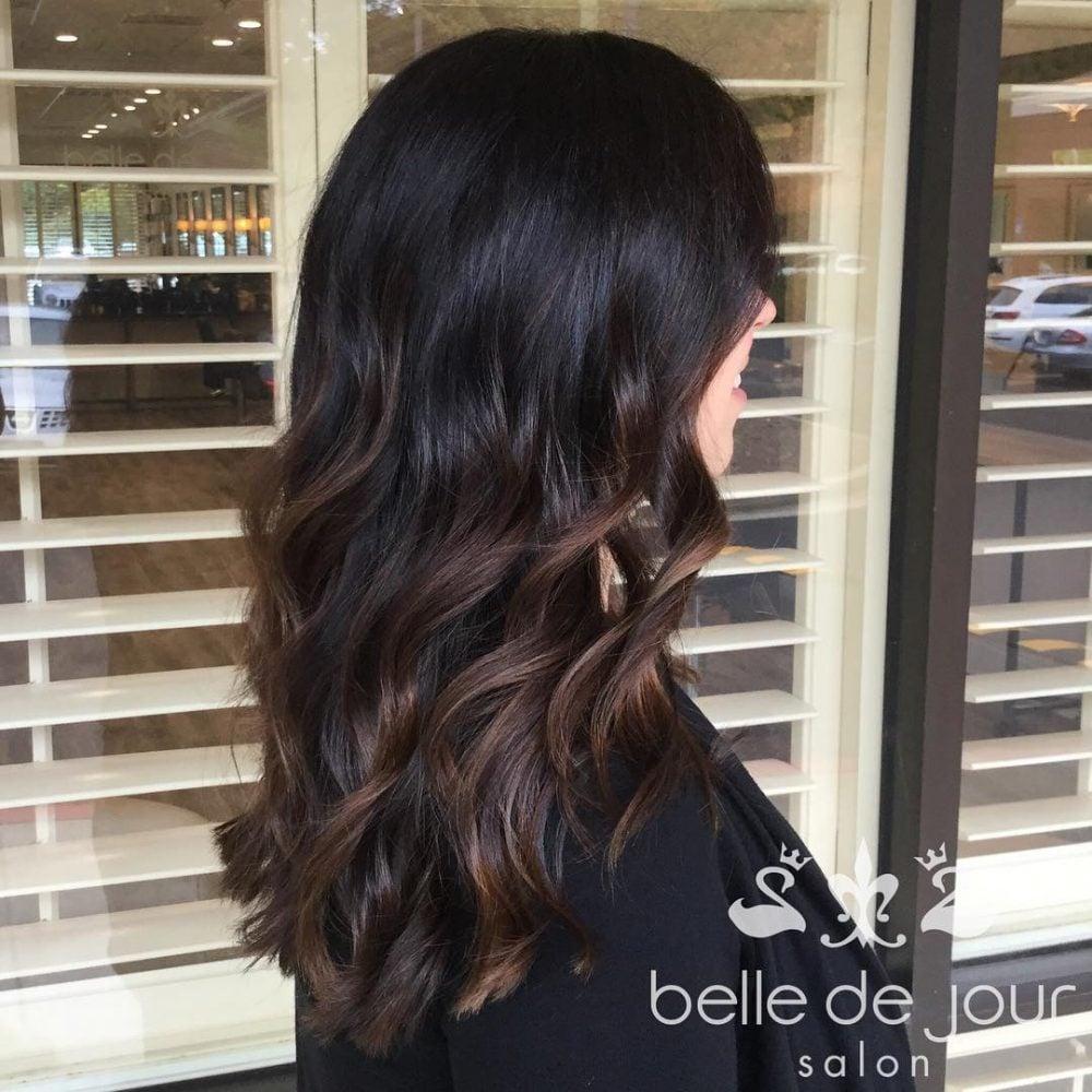 Soft Caramel Balayage hairstyle