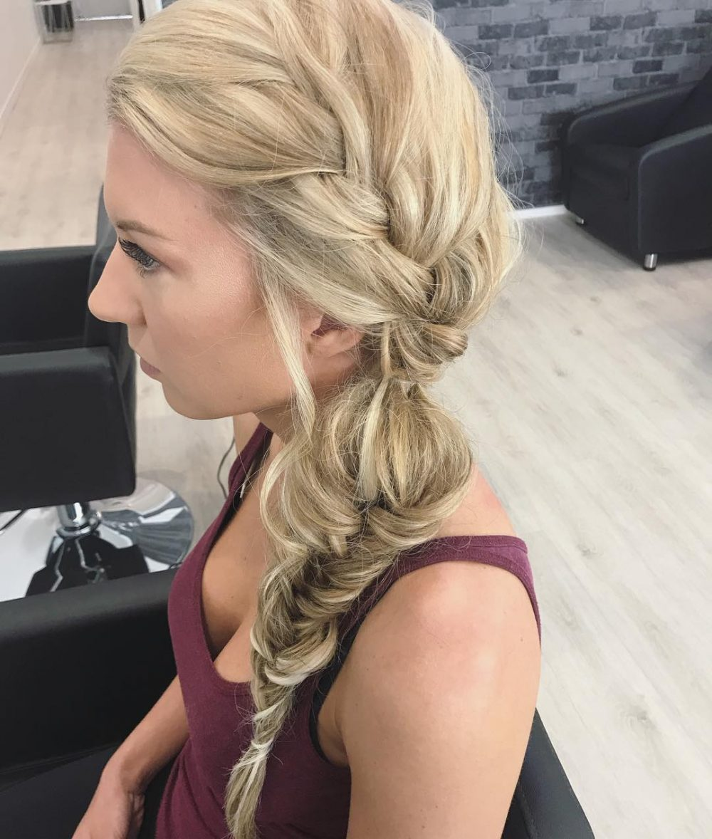 Soft Fishtail Braid hairstyle