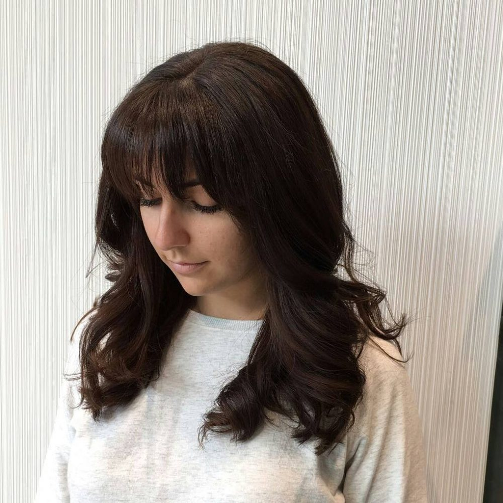 Soft Fringe with Long Layers hairstyle