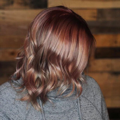 Agadir Argan Oil Blog Rose Gold Hair Color