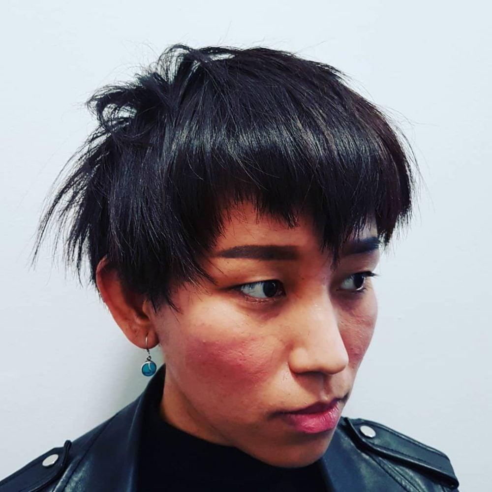 Soft Undercut Shape hairstyle