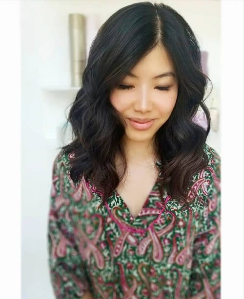 Soft & Modern Flow hairstyle